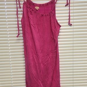Echo Size L Pink Bathing Suit coverup